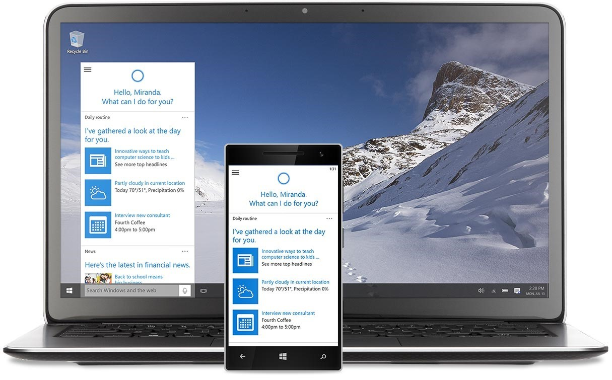 New Microsoft Windows 10 available July 29th!