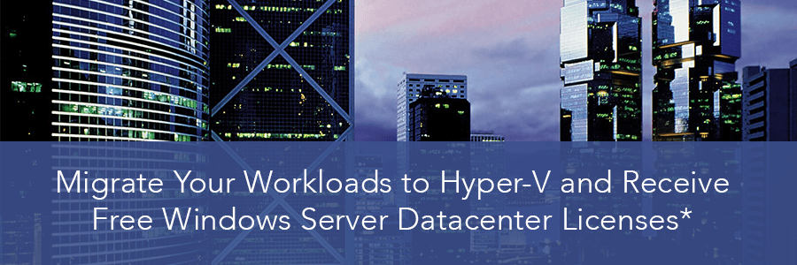 Limited-Time Microsoft Offer: Migrate VMware to Hyper-V Now and Save