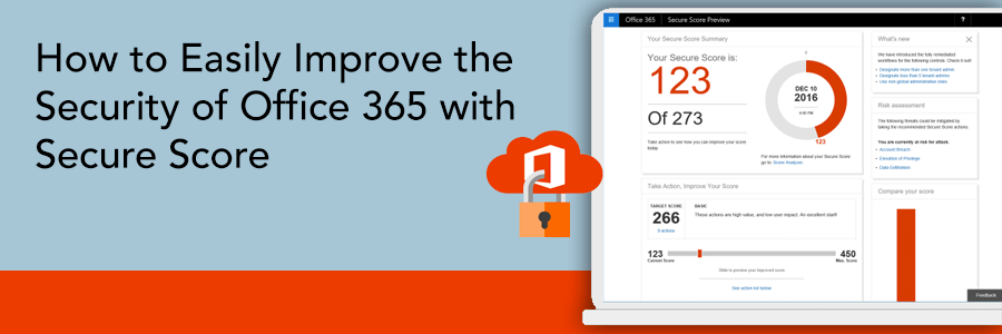 Easily Improve the Security of Office 365 with Secure Score