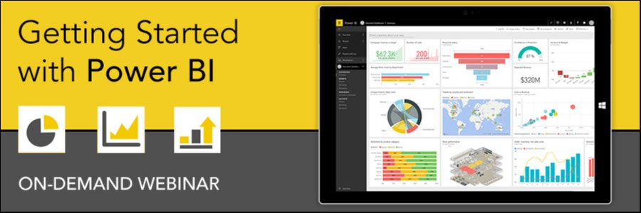 On-Demand Webinar | Getting Started with Power BI